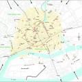 Plan des stations de Bicloo à Nantes