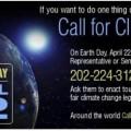 Journée de la Terre - Call for Climate