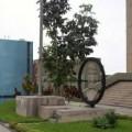 Installation du Super Arbol, purificateur d'air à Lima