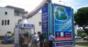 Purificateur d'air contre la pollution