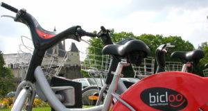 Vélo libre service à Nantes