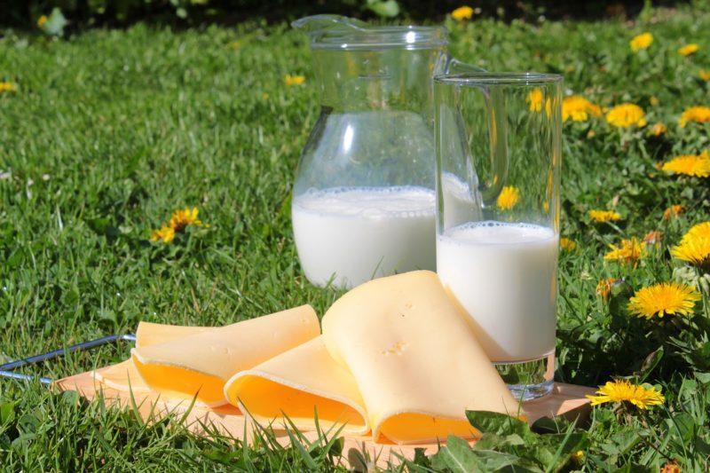Suppression des produits laitiers