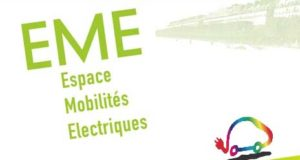 Ancien logo de l'Espace Mobilité Electrique