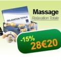 Soldes Coffret de massage relaxation totale