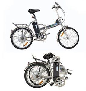 Exemple de Vélo électrique pliant