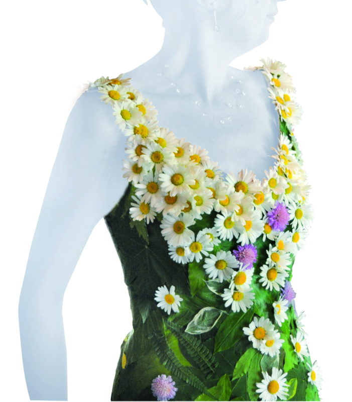 Mariage bio avec une robe colo for Robes de fleurs pour les mariages