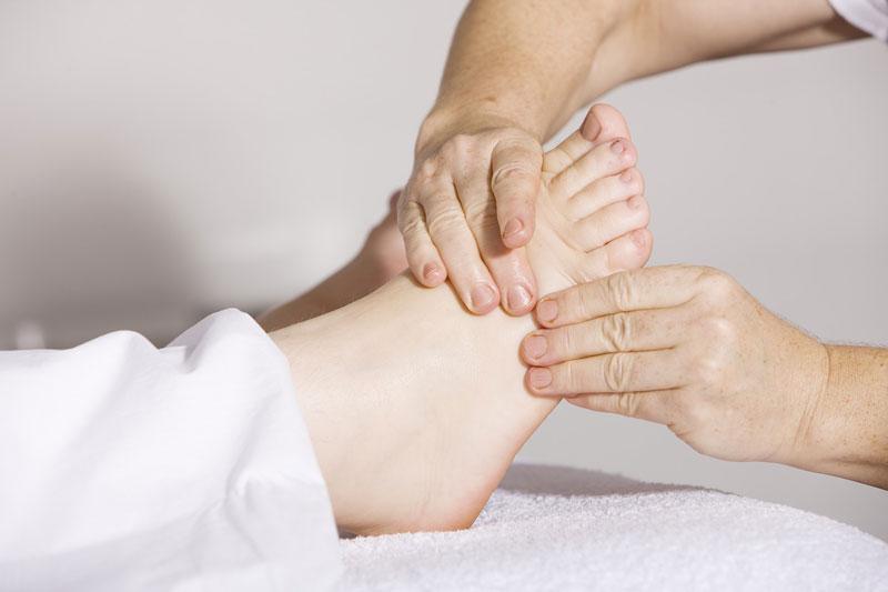 Méridiens pieds