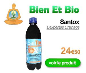 Drainage grâce à Santox