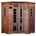 Sauna Infarouge Carbone en bois de cèdre rouge