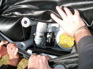 Bloc moteur du spa gonflable