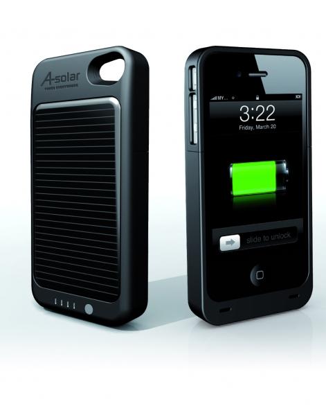 chargeur solaire pour iphone 4 prim. Black Bedroom Furniture Sets. Home Design Ideas