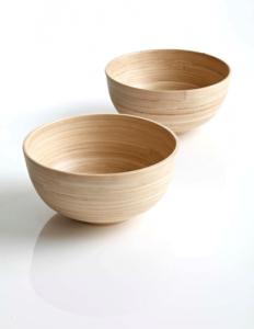Vaisselle naturelle en Bambou