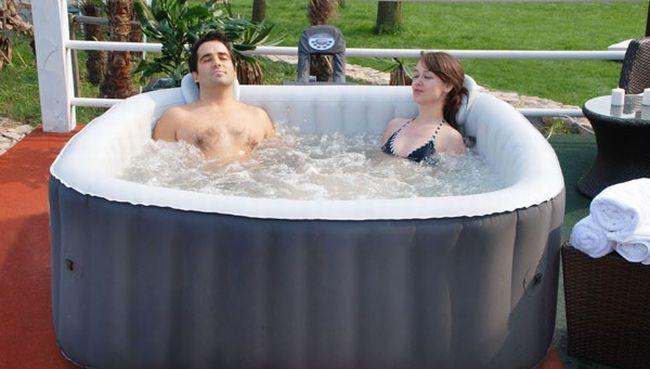 spa gonflable de luxe la d tente domicile bien et bio. Black Bedroom Furniture Sets. Home Design Ideas