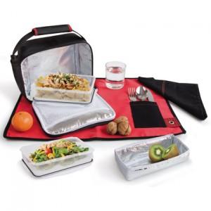 La lunchbox est idéale pour les pique nique et les goûters