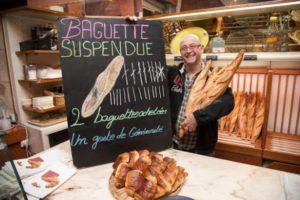 Baguette suspendue