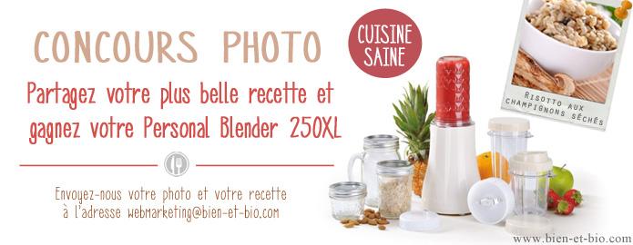 Concours photo Bien et Bio