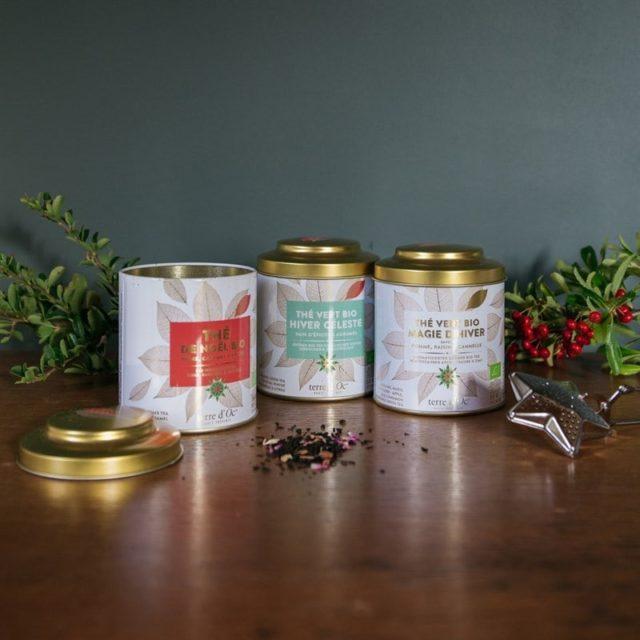 Offre de thé de Noël