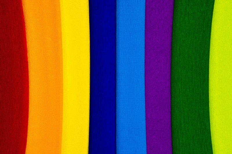 Le bien-être avec les couleurs