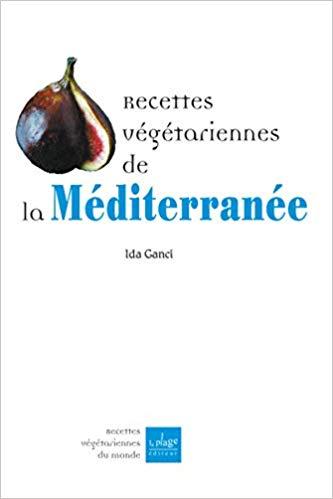 Livre de recettes de la cuisine végétarienne de Méditerranée