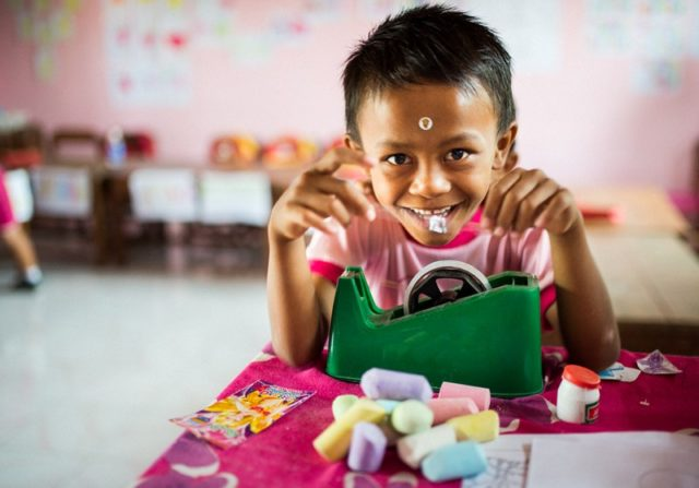 Aider les enfants de Bali