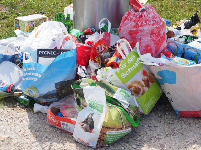 emballages jetables en plastique