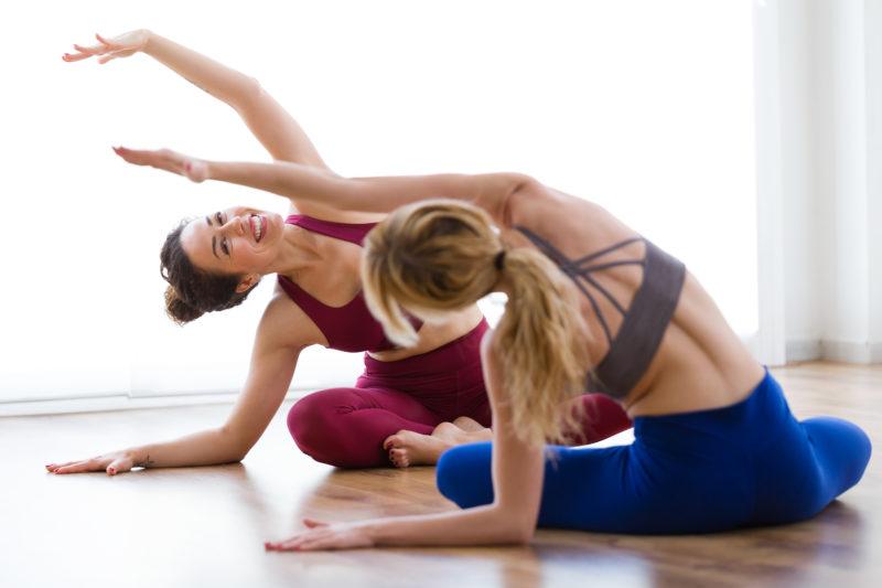 Corps et esprit avec le yoga