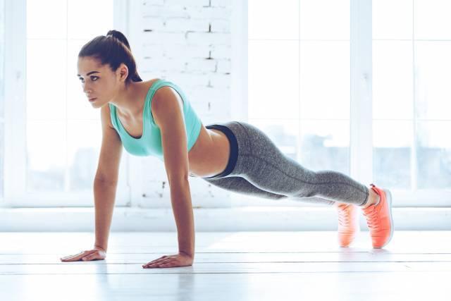 Développement de la poitrine après des exercices physiques