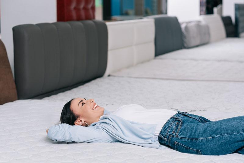 dormir sur un matelas en laine