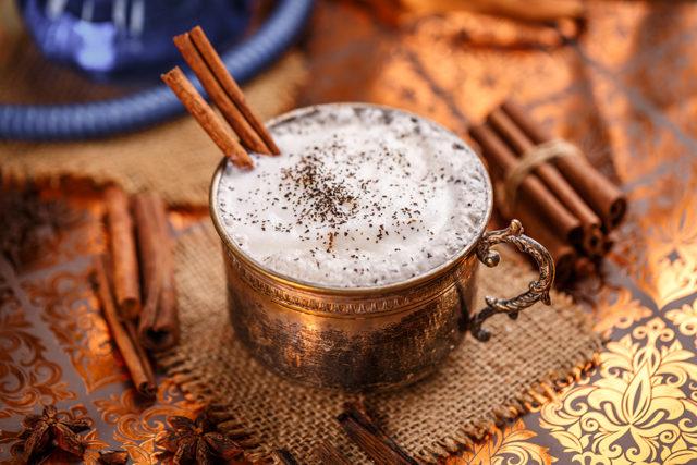 faire un chai latte