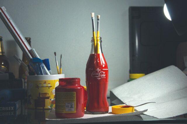 l'artisanat avec des bouteille