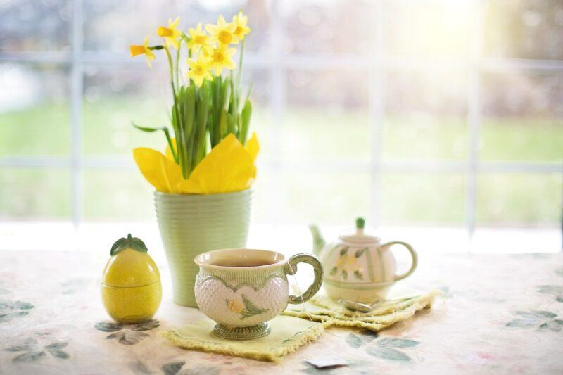 tasse de thé de Ceylan
